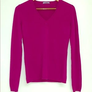 NWOT MALO CASHMERE PULLOVER SWEATER IN PURPLE
